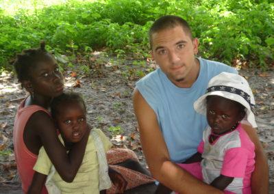 Observar la camara. La Casamance, Senegal