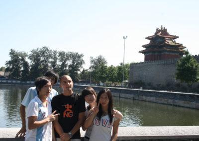 Queremos una foto contigo. Pequín, China