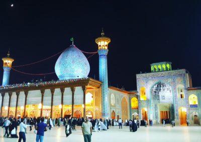Luz. Shiraz.  Irán