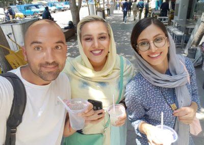 Romper esteorotipos.  Teherán. Irán.