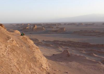 El lugar mas caliente del mundo.  Desierto de Dasht-E-Lut.  Irán