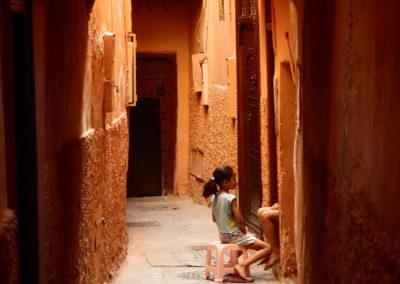 Nuestro Lugar:  las medinas. Marrakesh.  Marruecos