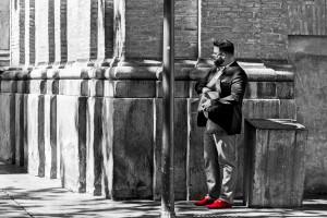 03 El hombre de los zapatos rojos - José-Angel Saez-Diez