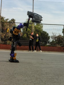 LLUITANT AMB ROBOTS