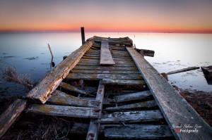 Bernardo Badenas - Crepúsculo en el Delta del Ebro